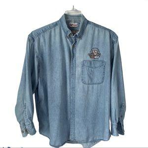 50th Anniversary Of NASCAR chambray shirt XL
